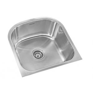 Buy Neelkanth NK-SB25M Matt Single Bowl Stainless Steel Sink at Best ...